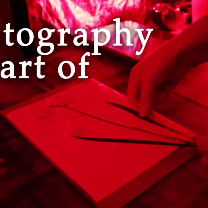 Photography is part of me - finding peace in the darkroom